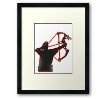COMPOUND ARCHER Framed Print
