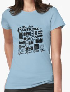The Best Camera Womens Fitted T-Shirt