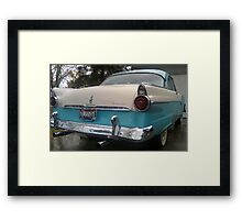 55' Ford Fairlane Victoria Framed Print