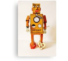 Robo Just Wants To Be Loved. Canvas Print