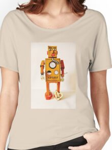 Robo Just Wants To Be Loved. Women's Relaxed Fit T-Shirt
