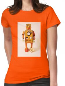 Robo Just Wants To Be Loved. Womens Fitted T-Shirt