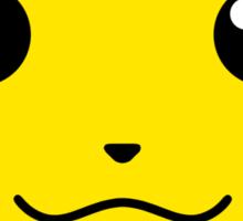 Pikachu Full Face (Sticker) Sticker