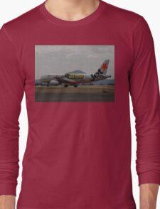 Jetstar Airbus A320, Avalon Airshow, Victoria, Australia 2009 Long Sleeve T-Shirt