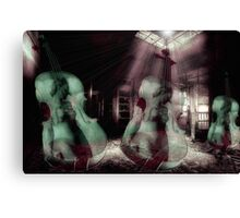 Once There Was Music Canvas Print