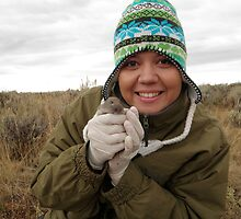 Me & Pocket Gopher by WildlifeChick85