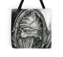 Wrex Portrait in Charcoal Tote Bag