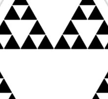 Sierpinski Triangle Sticker