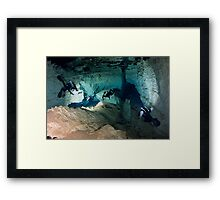 INDIAN SPRINGS REVEALED Framed Print