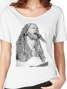 Newton Faulkner Drawing Tee Women's Relaxed Fit T-Shirt