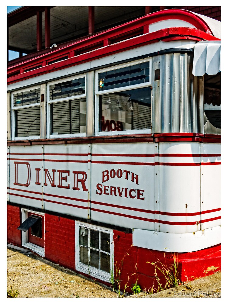 American Diner Booth Service by Edward Fielding