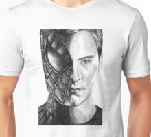 Spiderman/Tobey Maguire Drawing Tee Unisex T-Shirt