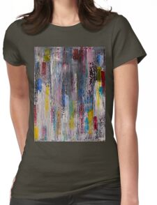 Rainbowfall Womens Fitted T-Shirt