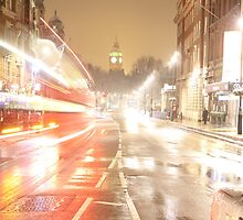 Big Ben and Red bus 2 by csajos