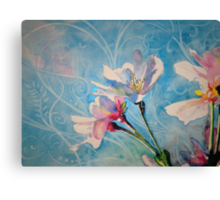 """""""Spring Air"""" Cherry Blossom Watercolor Painting by Christie Marie Elder-Ussher Canvas Print"""
