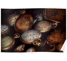 Steampunk - Clock - Time worn Poster