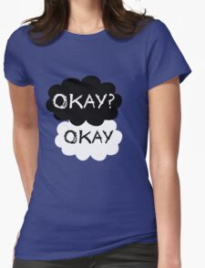 Okay? Okay. Tfios Shirt Womens Fitted T-Shirt