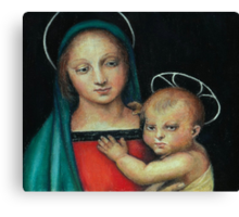 Madonna and Child, after Raphael Canvas Print