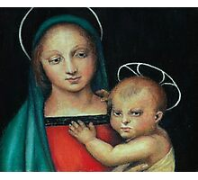 Madonna and Child, after Raphael Photographic Print