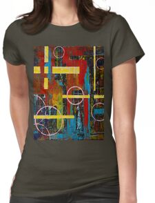 Dystopia Womens Fitted T-Shirt