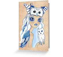 Owl Duchess ~ Sketch Greeting Card