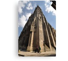 Cathedral, Bayeux, France, Europe 2012 Canvas Print