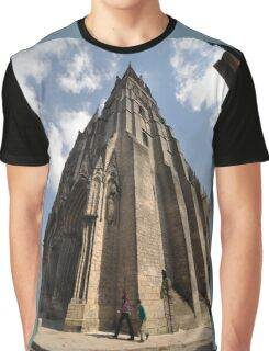 Cathedral, Bayeux, France, Europe 2012 Graphic T-Shirt