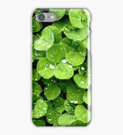 Clovers (available in iphone, ipod, & ipad cases) iPhone Case/Skin