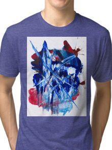 Crystalline Drop Tri-blend T-Shirt
