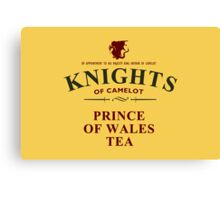 KNIGHTS Of Camelot Tea Canvas Print