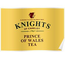 KNIGHTS Of Camelot Tea Poster