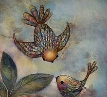 Birds of Paradise by © Karin  Taylor