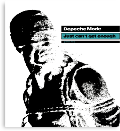 Depeche Mode : Just Can't Get Enough by Luc Lambert