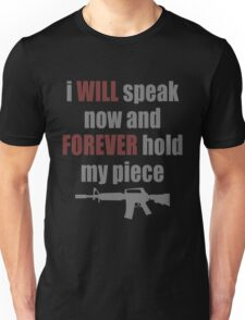 Forever Hold My Piece T-Shirt