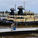 NEWCASTLE  SVITZER  HARBOUR TUGS by Phil Woodman