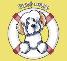 White Piebald Havanese :: First Mate Kids Clothes
