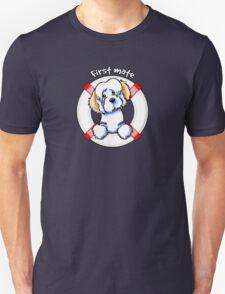 White Piebald Havanese :: First Mate T-Shirt