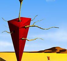 O Cone Vermelho. by Marcel Caram