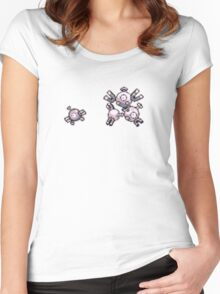 Magnemite evolution  Women's Fitted Scoop T-Shirt
