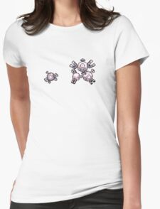 Magnemite evolution  Womens Fitted T-Shirt
