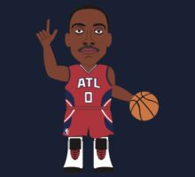NBAToon of Jeff Teague, player of Atlanta Hawks by D4RK0