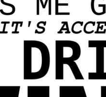 Coffee and wine Sticker