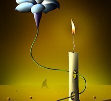 A Vela e a Flor. by Marcel Caram