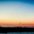 Melbourne Panorama by lesslinear