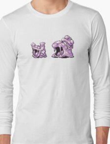 Grimer evolution  Long Sleeve T-Shirt