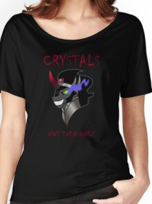 Crystals- Not Even Once Women's Relaxed Fit T-Shirt