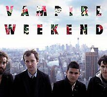 Vampire Weekend being very Vampire Weekend-y by rpride