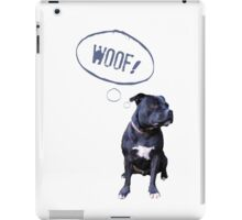 I love Staffies iPad Case/Skin