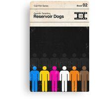 Reservoir Dogs Modernist Book Cover Series  Canvas Print