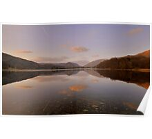 The Lake District: Grasmere Symmertry Poster